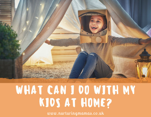 Kids Activities to try at home!