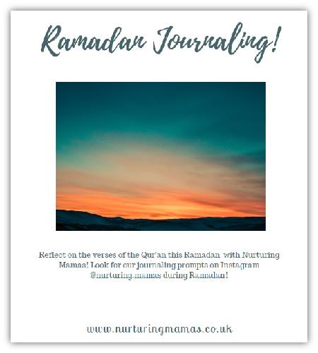 Ramadan Journaling with Nurturing Mamas!